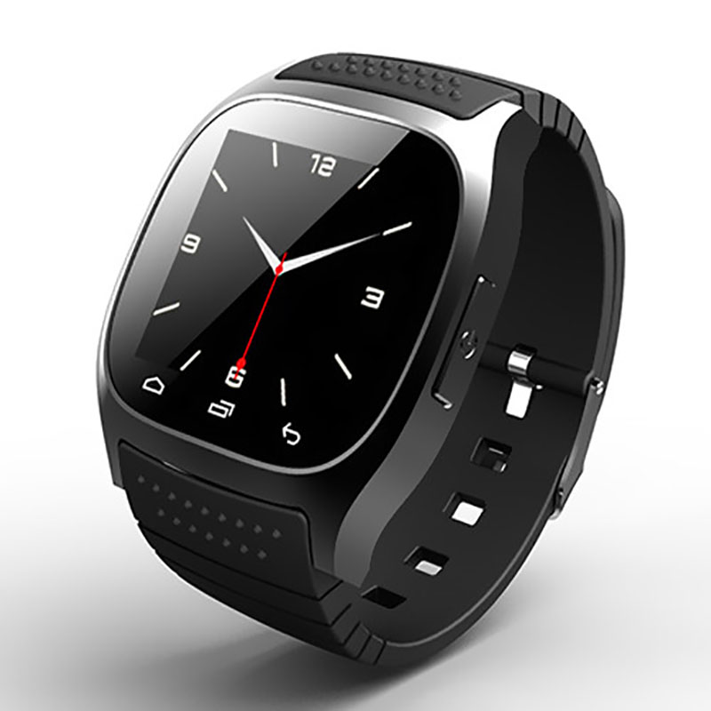 M26 Unisex Smart Watches Bluetooth Sport Smart Wristwatch With LED Alitmeter Digital Clock Fitness Tracker For