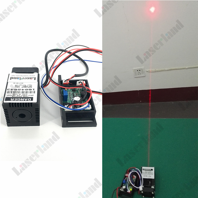 Focusable 650nm-660nm Red 150mW Laser Dot Diode Module TTL 12VDC Stage Lighting 18 45mm 100mw 150mw 650nm 655nm 660nm red dot laser module diode with external driver