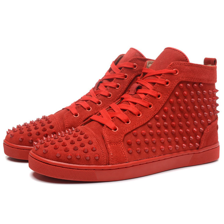 Red Bottom Men Shoes LOUIS SPIKES MENS