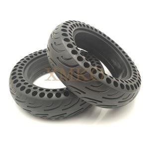 Image 5 - Обновленные шины для скутера NINEBOT MiniPRO с твердыми отверстиями, двойной амортизатор, непневматические мини шины Xiaomi, демпфирующие резиновые шины