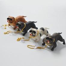 Car bully dog Decoration Creative Personality High Grade Interior Fashion Simulation Dog Doll Accessories Ornaments
