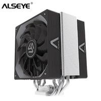 ALSEYE CPU Cooler Heatpipes TDP 280W 4Pin PWM 120mm CPU Fan High Level Radiator for LGA 2011/775/115X/AM2+/AM3+