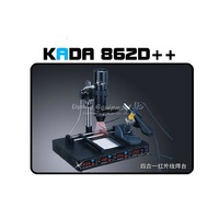 220V 110V KADA 862d 4 In 1 Full Auto IRDA Infrared Soldering Station BGA Rework Station