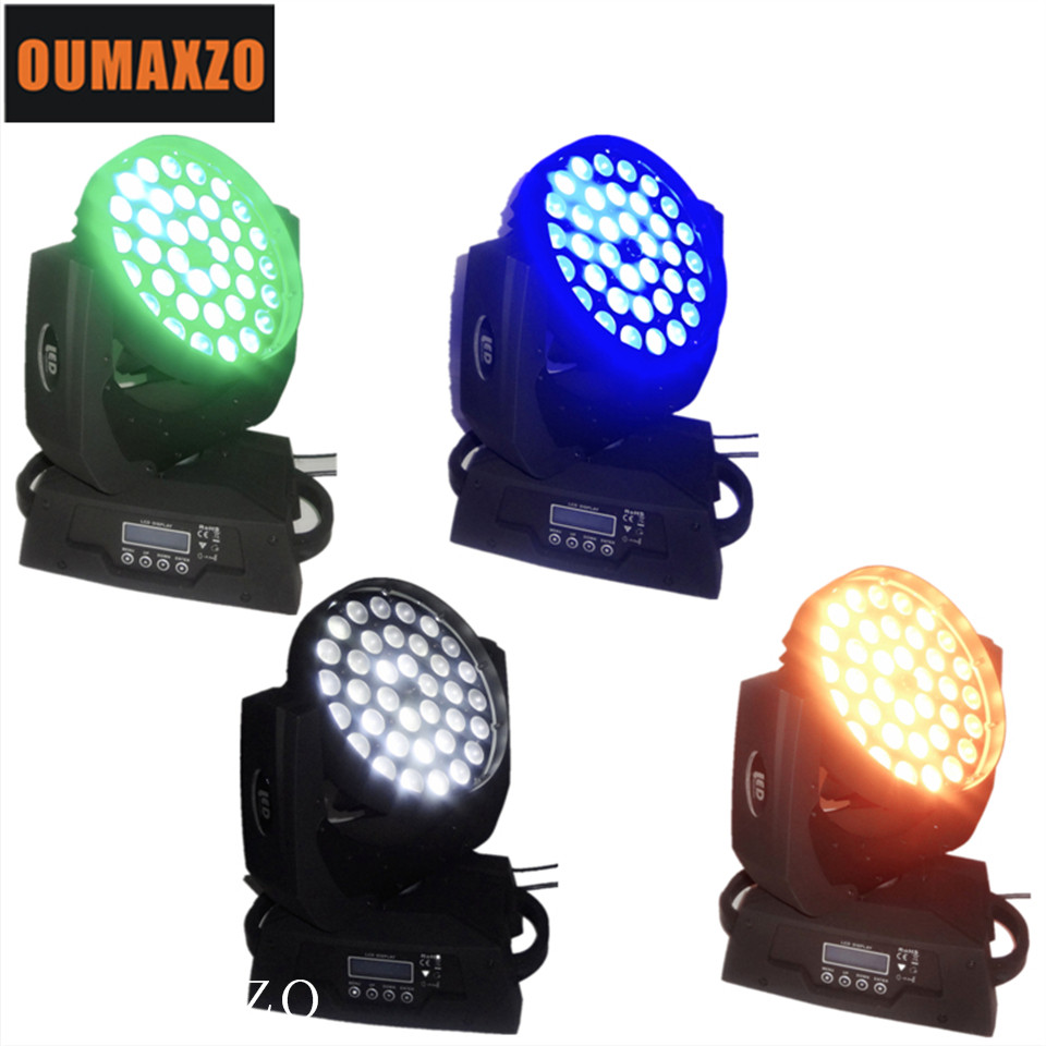 4pcs/lot Stage led lighting 36pcs 15W 5in1 moving head zoom light stage moving light led moving head zoom 36x15w lyre avec zoom