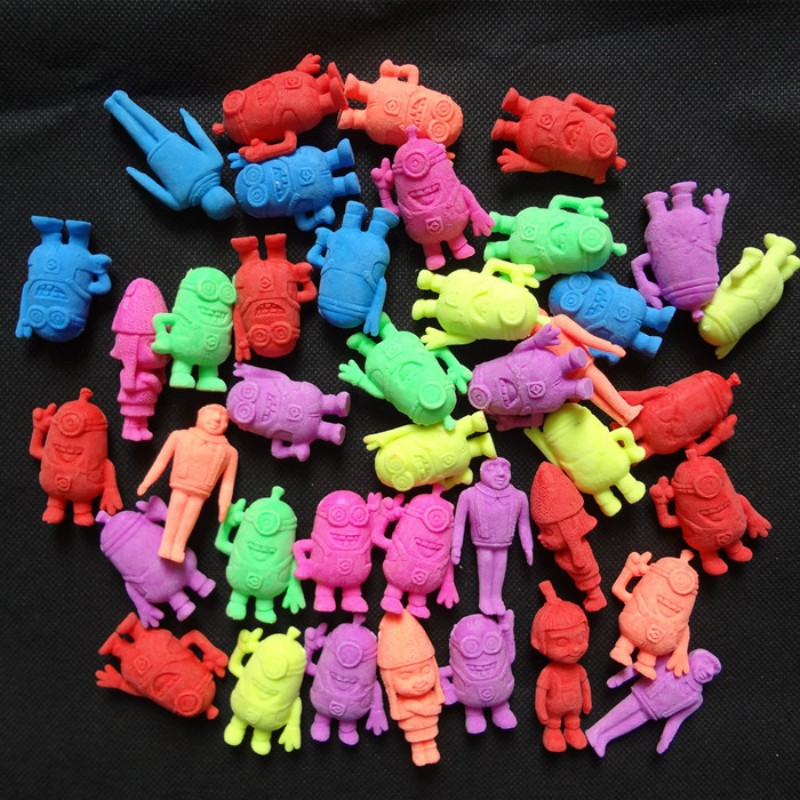 1000g/lot Despicable, Me Shape EVA Grow Up Toys Childrens Favor Toy Aquarium Home Decor Free Shipping SJ042