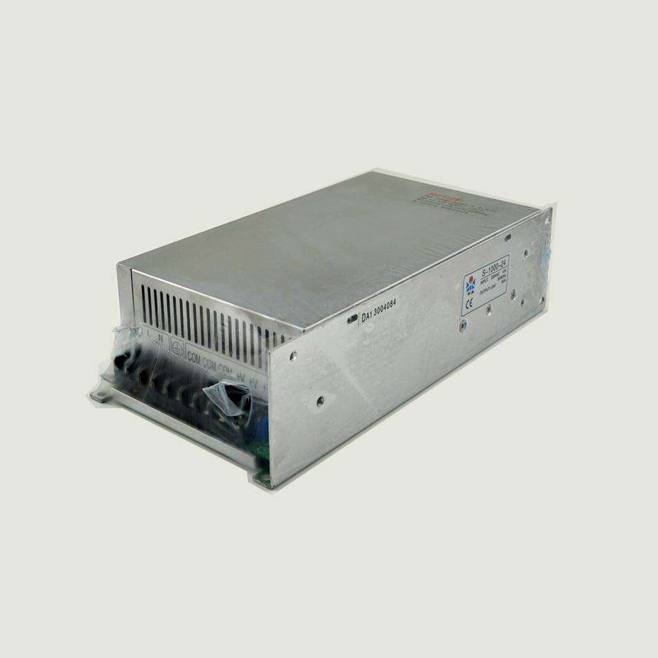 ФОТО ac to dc 1000W 48V 20A S-1000-48 Big Watt Single Output Strip light -led driver source switching power supply volt
