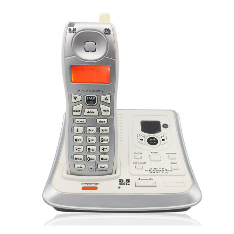 Digital Cordless Wireless Telephone With Call ID Answer System Backlit Landline Phone For Office Home Bussiness 2 receivers 60 buzzers wireless restaurant buzzer caller table call calling button waiter pager system