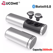 B1 TWS Earphone Bluetooth Headphones 2600mAh Metal Pull Charger Box Wireless Earphones Handsfree In Ear Earbuds PK i12 Headset