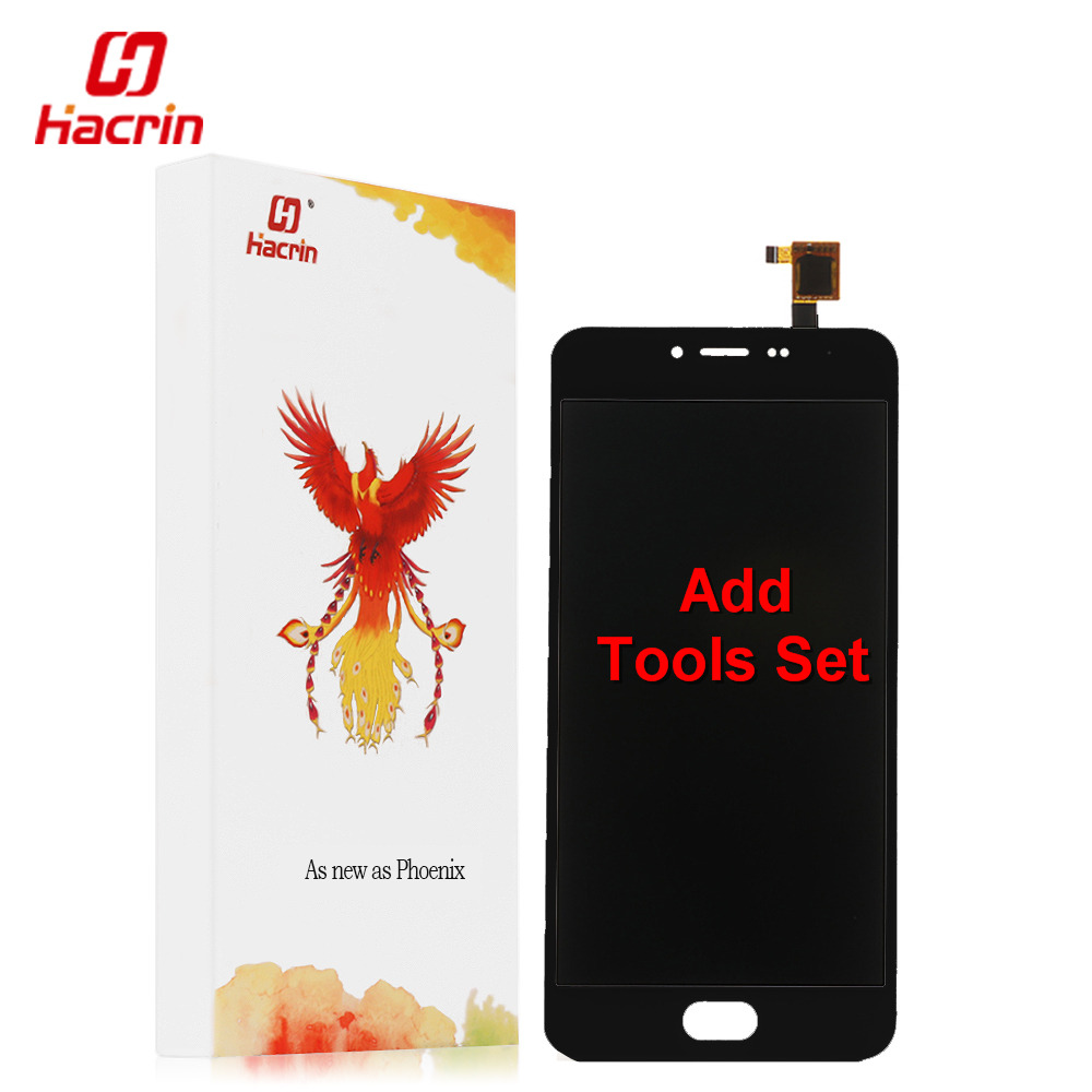 Hacrin Meizu M3 mini LCD Display + Touch Screen 5.0inch HD Digitizer Assembly Replacement For Meizu M3 mini Mobile Phone