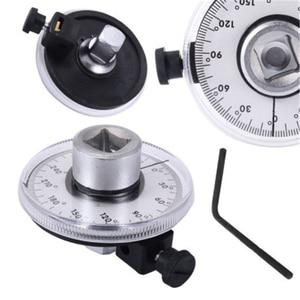 Image 5 - 전문 1/2 인치 조정 가능한 드라이브 토크 각도 게이지 자동 차고 도구 세트 핸드 툴 렌치
