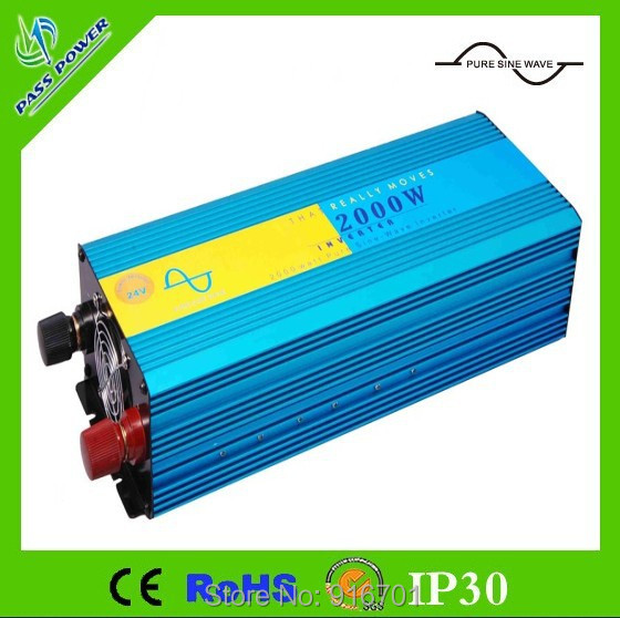 2000W Pure Sine Wave Inverter, Solar Power Invertor, DC 12V to AC 230v Power Inverter 2KW 2000W zuivere sinus omvormer ture sine wave inverter 6000 watt solar invertor dc 12v 24v 48v to ac220v 230v 240v for air conditioning or ice cream machine
