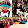 Best Deal High Quality Funny Handmade Children's Creative Hip Hop Hair Wig Hats Knit Caps Kid Hats Gift 2016