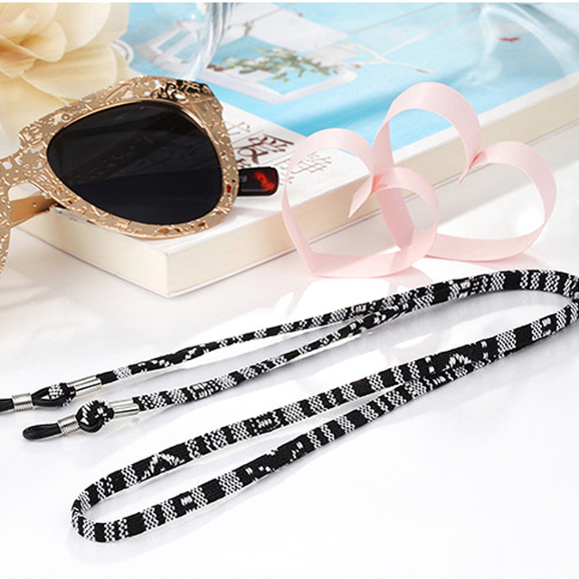Retainer Strap Eyewear Lanyard Holder with Glasses Chain