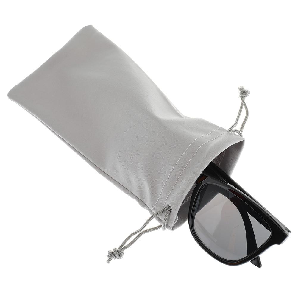 1 Pc Weichen Tuch Gläser Tasche Sonnenbrille Fall Wasserdicht Staubdicht Brillen Beutel Brillen Zubehör Speckle Solide