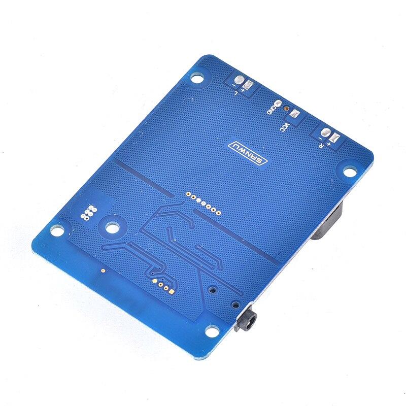 estéreo amp 3.5mm entrada áudio aux para alto-falantes DC8-26V D3-001