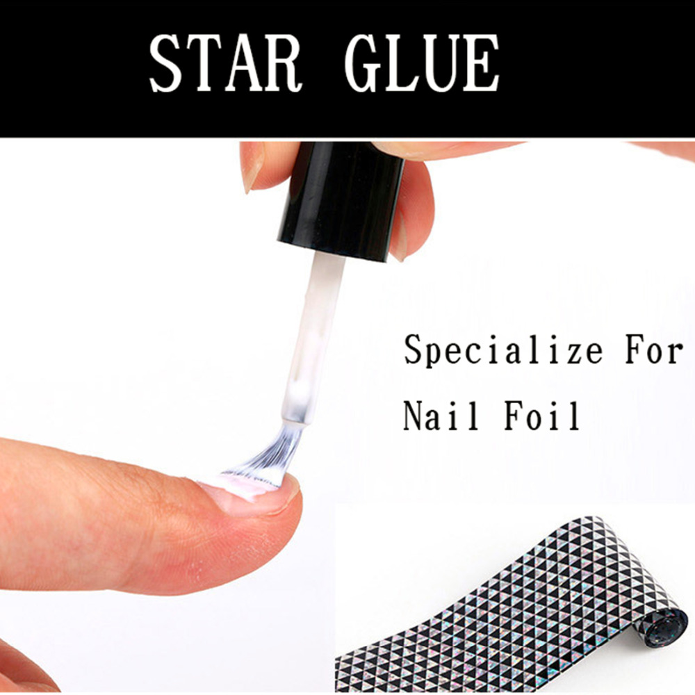 Pro Salon 1 Bottle 16ml Clear Star Glue for Nail Foil Adhesive ...