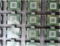 1 par/lote 1 unids emmc memoria flash chip con firmware para samsung s3 mini i8190 + 1 unids bga reballing reball