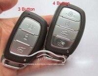 新しい!交換フォブ車キーケース3ボタン/4ボタン用ヒュンダイix25 ix35 mistraヴァーナアバンテスマートリモートキーシェ