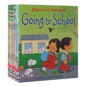 عشوائي اختيار 5 قطعة/المجموعة 15x15 سنتيمتر Usborne أفضل الكتب المصورة الأطفال الطفل قصة الشهيرة الإنجليزية البلدى حكايات سلسلة مزرعة قصة