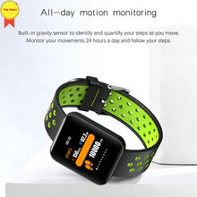 Smart watch Waterproof 1.54 Color Screen Sleep BP Tracker Fitness Bracelet VK skype reminder push Band Watch