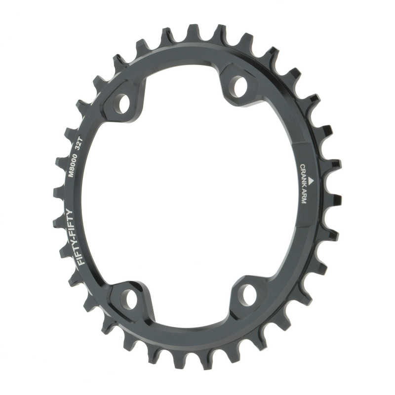 FIFTY-FIFTY  chainring MTB Bike gear for shimano M8000  crankset 32T 34T 36T 9/10/11S chain ring cnc alloy mtb bike bicycle chain bash guard mount chainring guide 30 40t p c d 104mm bike crankset protection