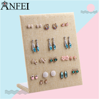 Free Shipping Display Shelf Board Pin Earrings Earrings Jewelry Display Stand Earring Holder Jewelry Box Store