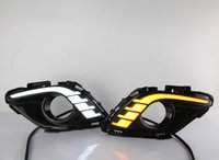 Osmrk led drl daytime running light for mazda 6 atenza, pipe guiding light design, pure white, super bright, top quality