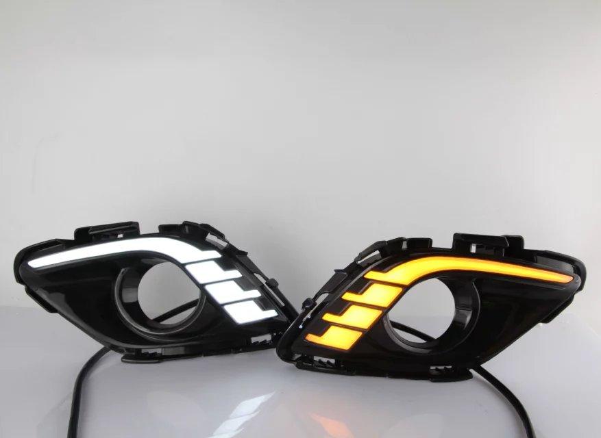 Osmrk Сид DRL дневного света для Мазда 6 атенза направляющую трубу световой дизайн, чистый белый, супер яркий, высокое качество