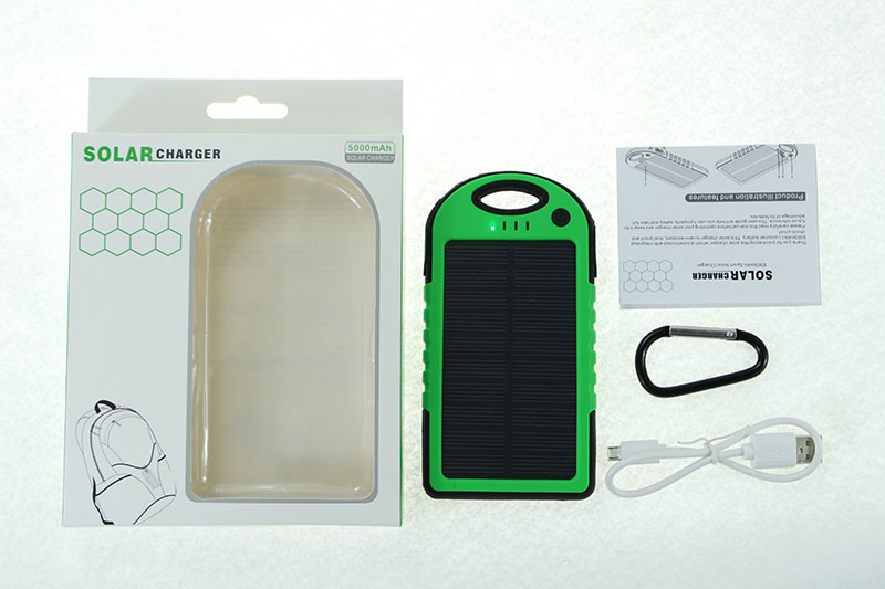 solar power bank PACKAGE