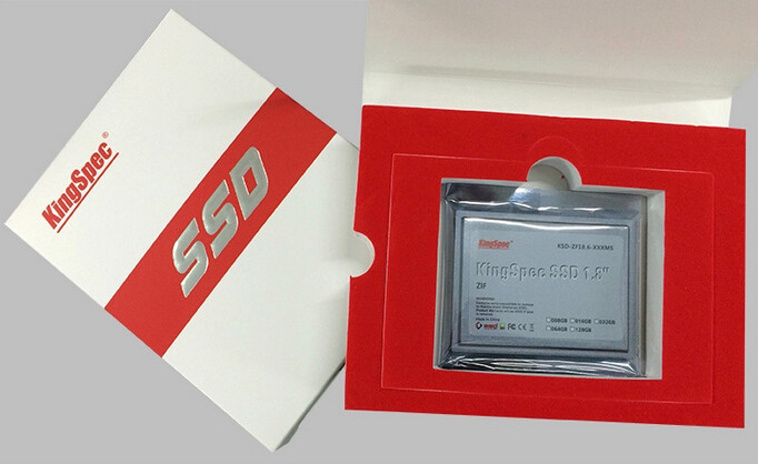 1.8 inch ZIF SSD Packing 1