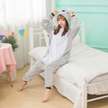 Koala Pajamas For Adults Women Jumpsuit Pajamas Animal Kigurumi Cosplay Costume Lovely Carnival Party Anime Onesies Sleepwear