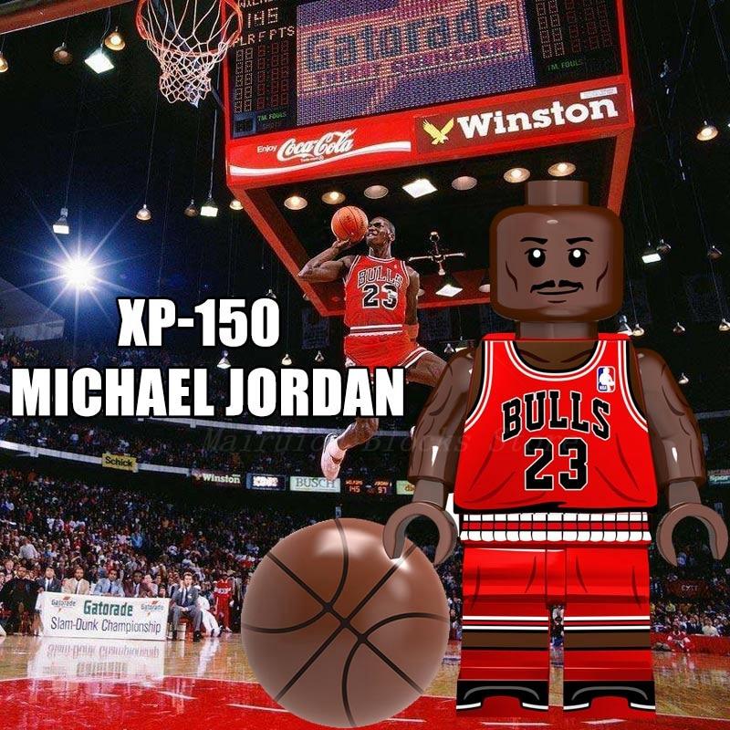 Figurines Jordan Joueurs De Basket-ball Professionnels James Westbrook Kobe Slam Dunk Blocs De Construction Anime Figurines Jouets