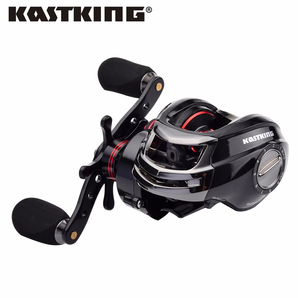 ФОТО KastKing Royale Legend Right or Left Baitcasting Reel 12BBs 701 Bait Casting Fishing Magnetic and Centrifugal Dual Brake