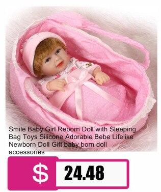 18Inch Open Eyes Kids Reborn Baby Doll Soft Full Body Silicone Lifelike Newborn Boy Girl Gift For Children Realistic