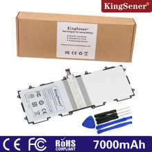 2017 Kingsener New Sp3676b1a (1s2p ) For Samsung Galaxy Be aware 10.1 Tab 2 P5100 P5110 P7500 P7510 N8000 N8010 Pill Battery