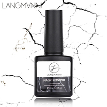 LANGMANNI Burst Nail Gel/Polish Remover Magic Healthy Fast Within 2-3