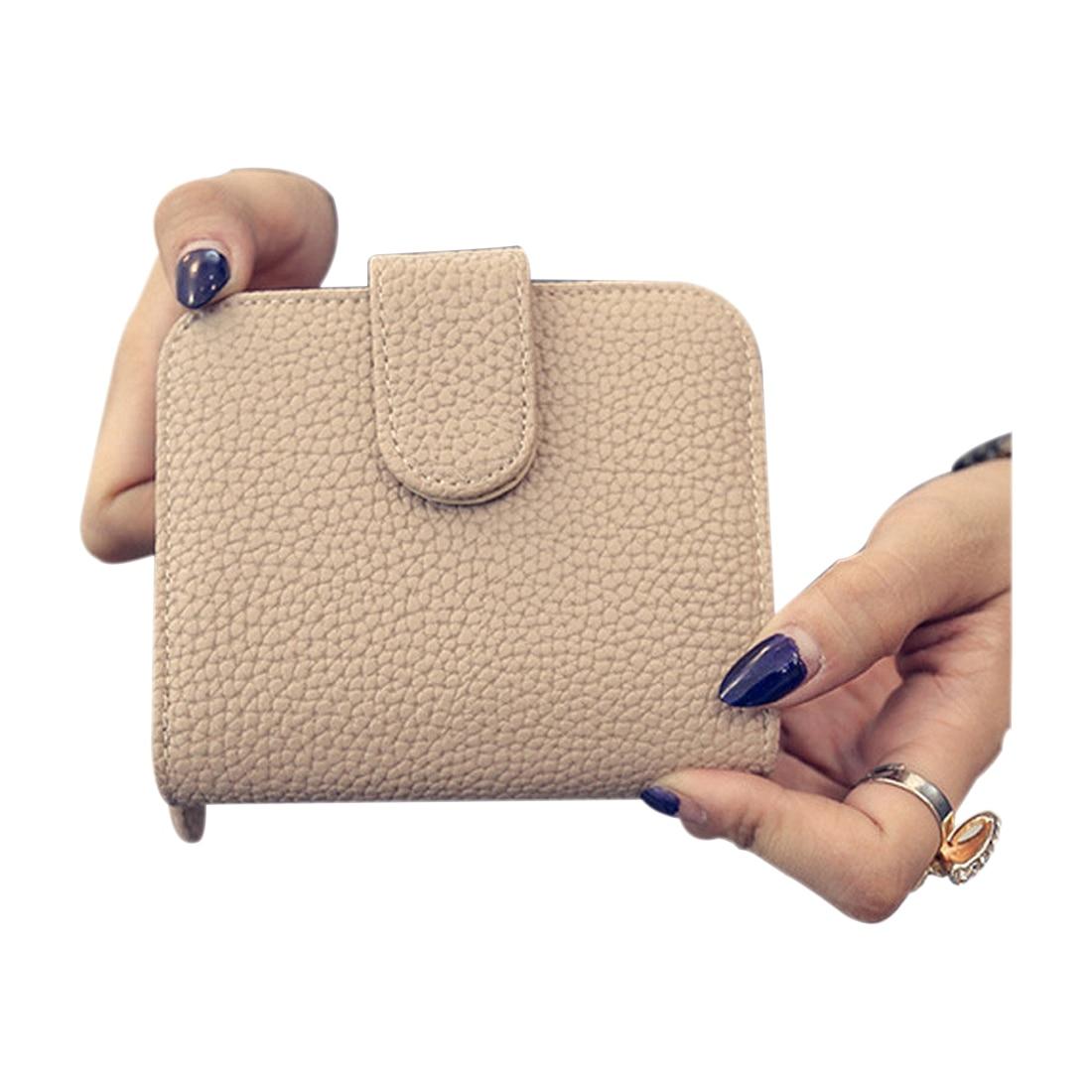 302cde3d9 FGGS-النساء حقيبة النقدية فتاة لطيف النقدية المال صغيرة محفظة و محفظة  البسيطة سستة غلق بمشبك قصيرة تصميم سيدة محفظة حقيبة