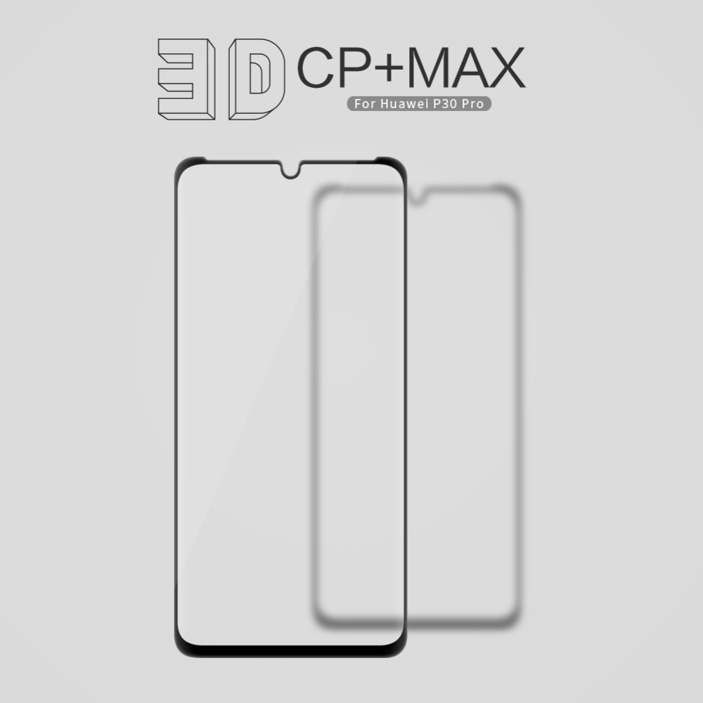 Image 2 - NILLKIN Amazing 3D CP+ MAX Full Coverage Nanometer Anti Explosion 9H Tempered Glass Screen Protector For Huawei P30 Pro-in Phone Screen Protectors from Cellphones & Telecommunications