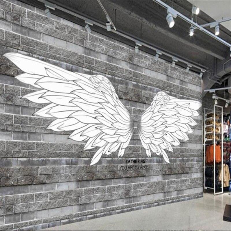 3d Angel Wallpapers Free Beibehang Custom 3d Wallpaper European And American Hand