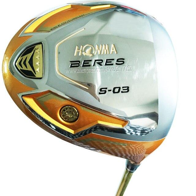 جديد نوادي الغولف HONMA S 03 4 نجوم أداة لعب الجولف 9.5 أو 10.5 لوفت الجرافيت جولف رمح R أو S فليكس نوادي سائق Cooyute شحن مجاني