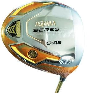 Image 1 - 새로운 골프 클럽 혼마 S 03 4 성급 골프 드라이버 9.5 또는 10.5 로프트 흑연 골프 샤프트 R 또는 S 플렉스 클럽 드라이버 Cooyute 무료 배송