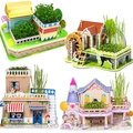 3d Puzzle, Puzzle, Toys Lovely Building Three-dimensional Puzzle 3d Paper Free Shipping