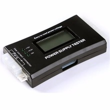 In stock! 1Pc <font><b>Computer</b></font> PC Power Supply Tester Checker 20/24 pin SATA HDD ATX BTX Meter LCD Newest
