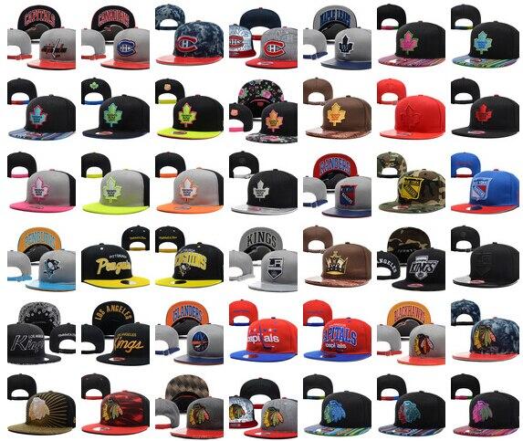 6af702d54804f6 All Team Hockey Snapbacks Cheap Hockey Cap Fashion Hip Hop Hat Adjustable  Beach Sports Hat Flat Cap Summer Ball Caps Sun Hats