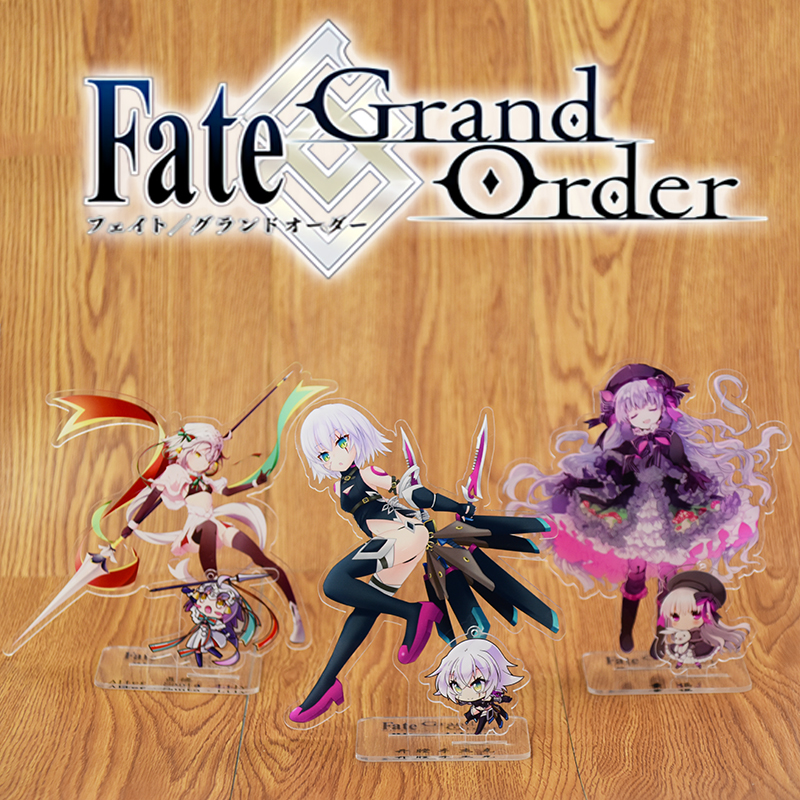 Anime FGO Fate/Grand Order Jack The Ripper Scathach Arjuna Matthew Cosplay Acrylic Stand Figure Desk Stand Figure & Keyring
