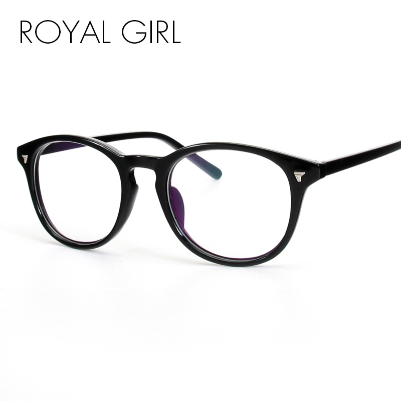 ROYAL GIRL New Simple Fashion Eyeglasses Frames Women ...