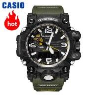 Часы Casio G SHOCK Мужские кварцевые спортивные часы Air мастер 6 Бюро Радио Солнечные сапфировые водонепроницаемые g shock Часы GWA 1100