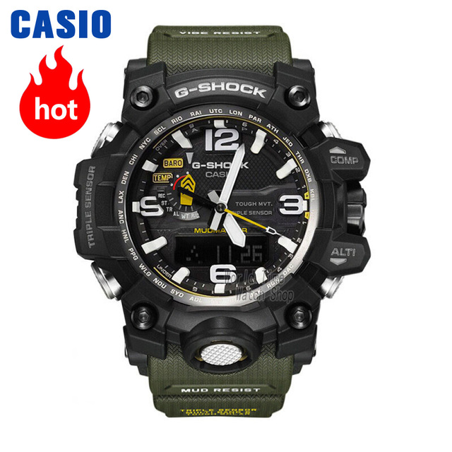 52a1626fcd8 Casio watch G-SHOCK Men s Quartz Sports Watch Air-master 6 Bureau Radio  Solar Sapphire Waterproof g Shock Watch GWG-1000