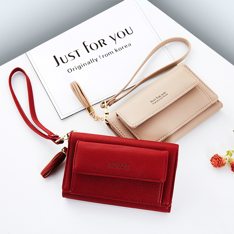 Coins Purse PU Leather Card Holders Three Folds Large Capacity Handbags Ladies Long Wallets Zipper & Hasp Women Clutch (JY117-3) korean brand design pu leather solid hasp envelope day evening clutch wallets 16 card bags long wallet for women ladies purse