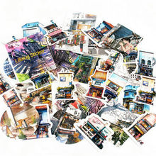 40 Pcs/pack Travel Wind Classic Kawaii Style Graffiti Stickers For Moto Car & Suitcase Laptop Stickers Skateboard Sticker(China)
